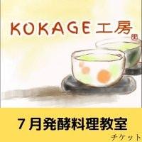 7月25日(日)発酵料理教室