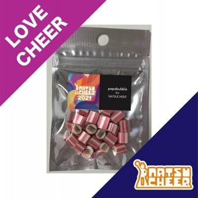 【LOVE CHEER CANDY】PAPABUBBLE for 夏チア オリジナルキャンディ