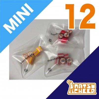 【CHEER MIX CANDY -MINI-】12個パック/PAPABUBBLE for 夏チア オリジナルキャンディ