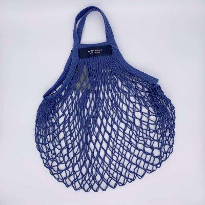 【送料無料】Bon marché / ボンマルシェ ネットバッグ  Blue