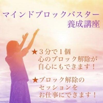 【マインドブロックバスター養成講座】