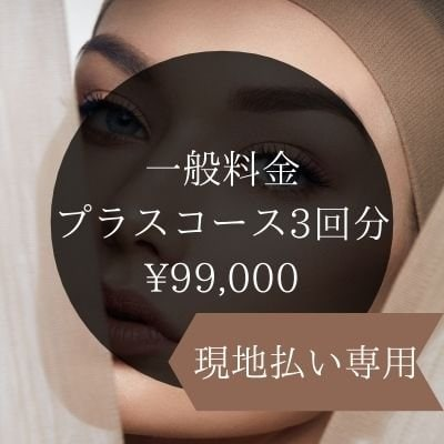 【現地払い専用】函館コスタ●プラスコース一般料金●3回