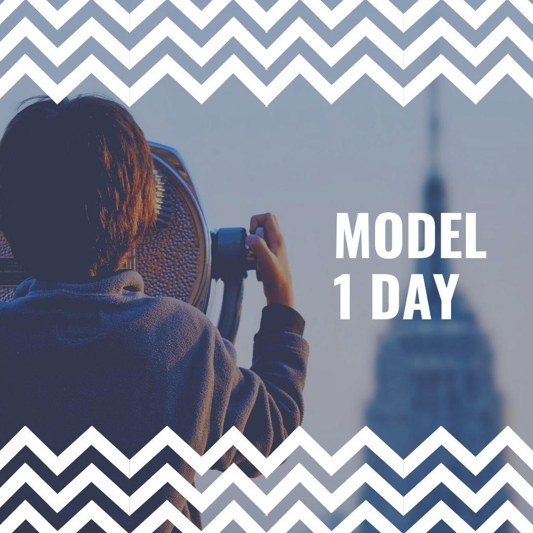モデル撮影 1日のイメージその1