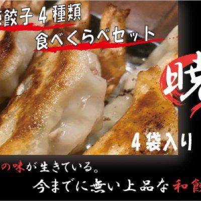 【餃子の暁】素材の味が活きている上品な絶品餃子!食べくらべ4袋セッ...