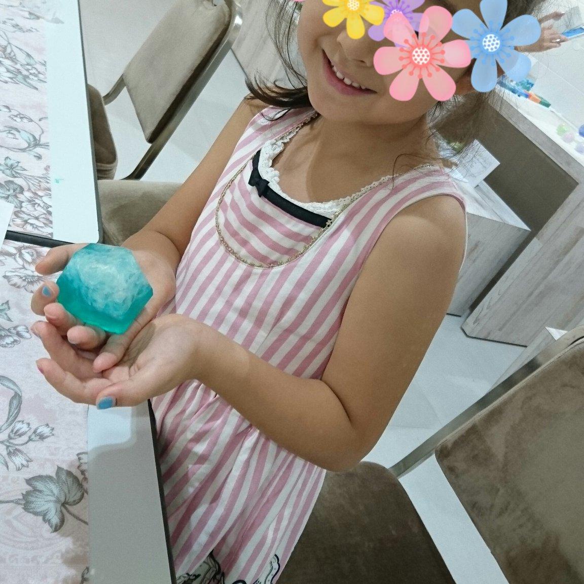 8/16(月)12:30〜13:30 夏休みの親子ワークショップ|3組限定!世界で一つ!自分だけの「宝石」石けん!|石けん2個作れます。のイメージその2