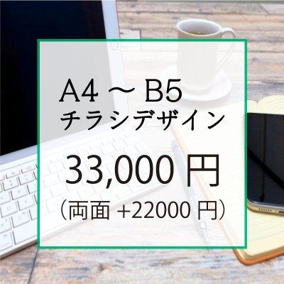A4〜B5サイズ チラシデザイン【スタンダード】