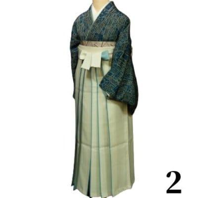 袴レンタル 卒業式 【袴のみ】カラー:2