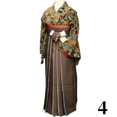 袴レンタル 卒業式 【袴のみ】カラー:4