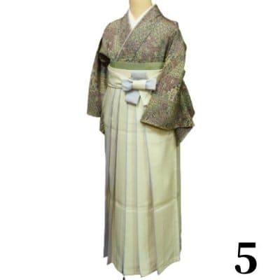 袴レンタル 卒業式 【袴のみ】カラー:5