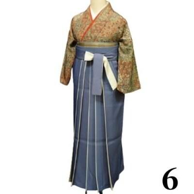 袴レンタル 卒業式 【袴のみ】カラー:6