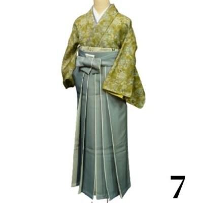 袴レンタル 卒業式 【袴のみ】カラー:7