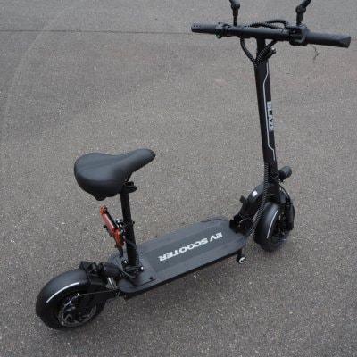 100%電気で動く折畳み可能な電動バイク ブレイズEVスクーター(ブラック色)【現地払い・銀行振り込み専用チケット】