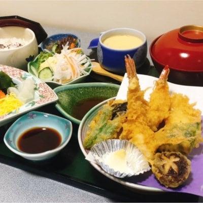 天ぷら定食(ランチ、ディナー両方ご利用いただけます)