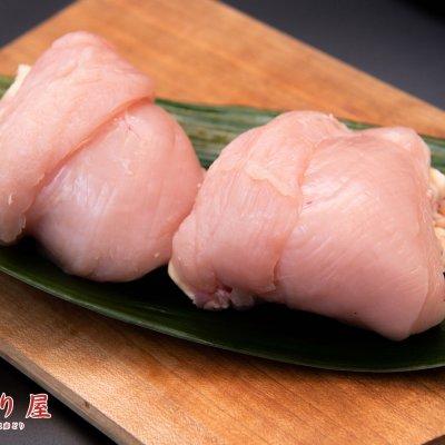 紅玉の名鶏 丹波赤どり むね肉1㎏(小分け)  肉厚でしっとりとした柔らかさ 店頭予約受取ウェブチケット