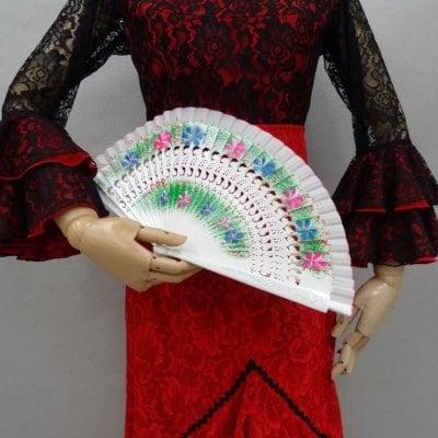フラメンコ 手描きペイントミニアバニコ スペイン製 透かし彫り ア...