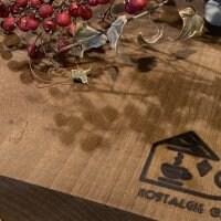 (送料無料)天然木(朴木)を使ったオリジナルまな板