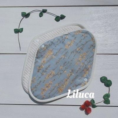 Lサイズ Iris Ice Flower【体にも環境にもやさしい】ハッピー布ナプキ...