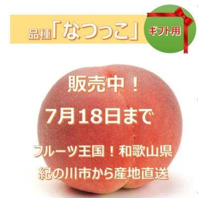 贈答用★販売中★桃「なつっこ」和歌山県産 1.5キロ(3~5個)/初出店記念...