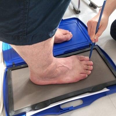 足の計測&歩行分析&靴診断ウェブチケット