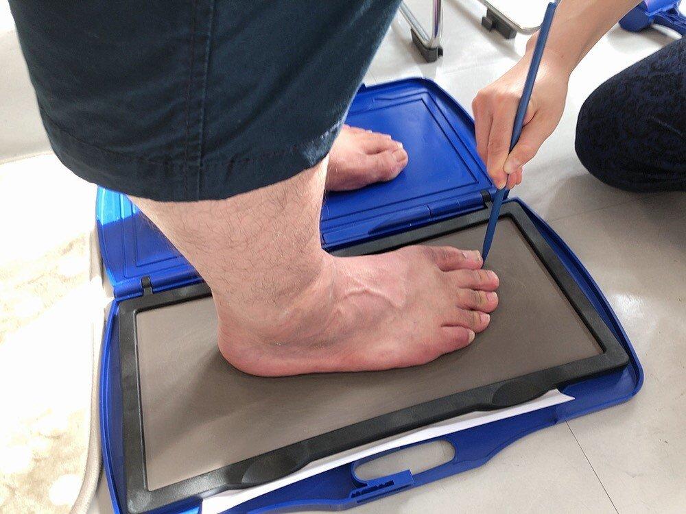 足の計測&歩行分析&靴診断ウェブチケットのイメージその1