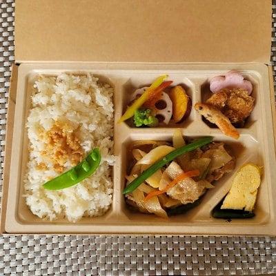 7/31ドラべんメニュー 10種類の野菜の生姜焼き弁当 850円