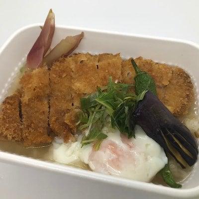 7/31ドラべんメニュー 放牧豚の冷やしカツ丼 1200円