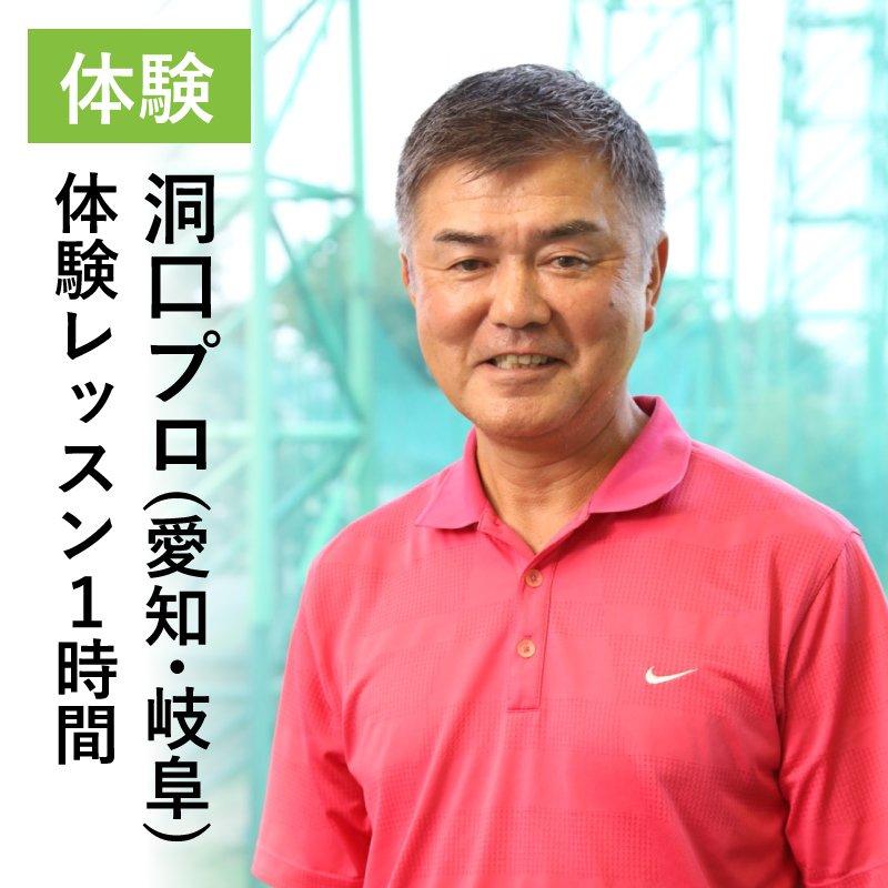 洞口誠男プロ/体験レッスン1時間/愛知県・岐阜のイメージその1