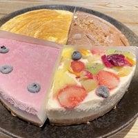 お得!『健幸・生ケーキ』おまかせ4種(ローケーキ)18㎝ 6号サイズホールケーキ 900g【1日5セット限定】