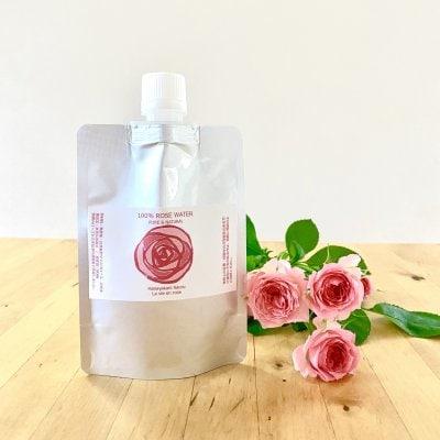 【予約販売】〈詰替用〉 華やかに香るローズウォーター 100ml  / 自然栽...