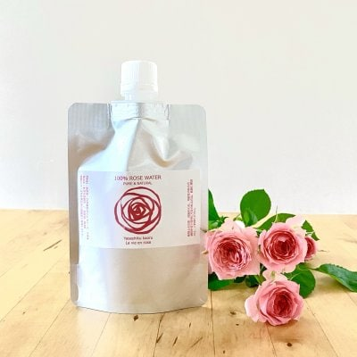 【予約販売】〈詰替用〉 優しく香るローズウォーター 100ml  / 自然栽培...