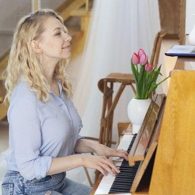 「なんでも聞いてね」オンラインピアノレッスン 60分