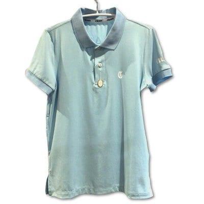 CRAZY (クレイジー) ポロシャツ サックス (カード払不可)