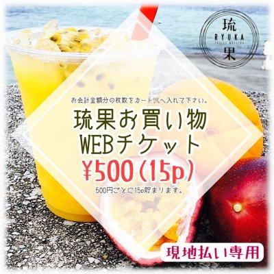 【現地払い専用】500円お買い物WEBチケット
