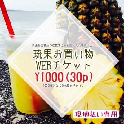 【現地払い専用】1000円お買い物WEBチケット