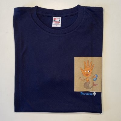 【手/Mサイズ】オリジナルTシャツ 男女兼用