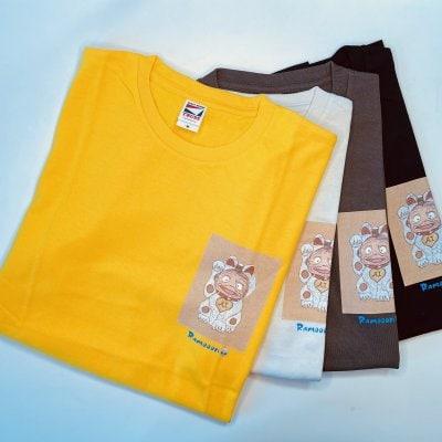 【招き猫/Mサイズ】オリジナルTシャツ 男女兼用