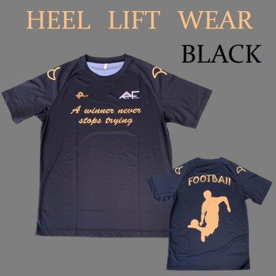 ヒールリフトTシャツ ブラック