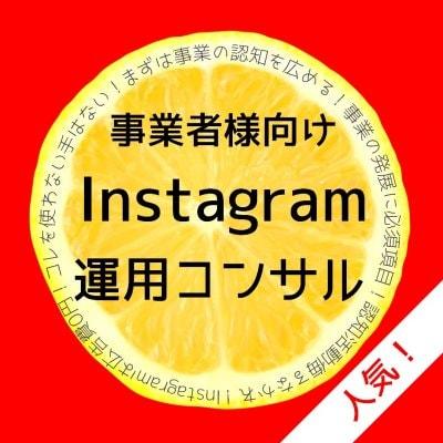 Instagram運用コンサル