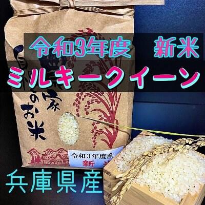 兵庫県産ミルキークイーン10キロ 令和3年 精米済