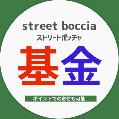 ストリートボッチャ基金チケット●○●ポイントでの寄付も可能です