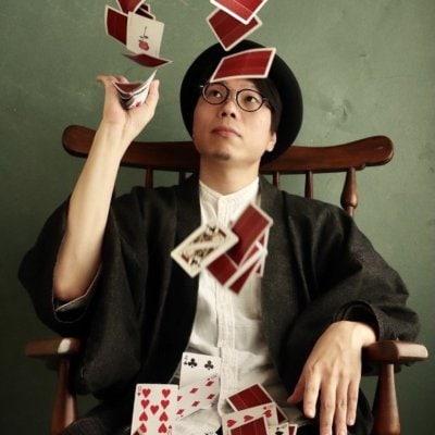 10月17日★静岡のマジシャンを知ってもらいましょう!!ゲスト蓬生★19:00~ (1時間程度)