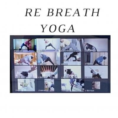 Re breath yoga 単発1回分《毎週火曜日・土曜日》