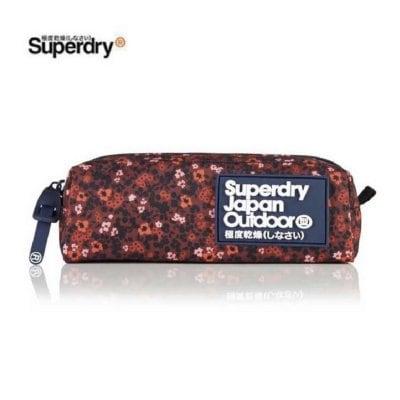 【ラスト1】Superdry:Scatter Ditsy PENCIL CASE
