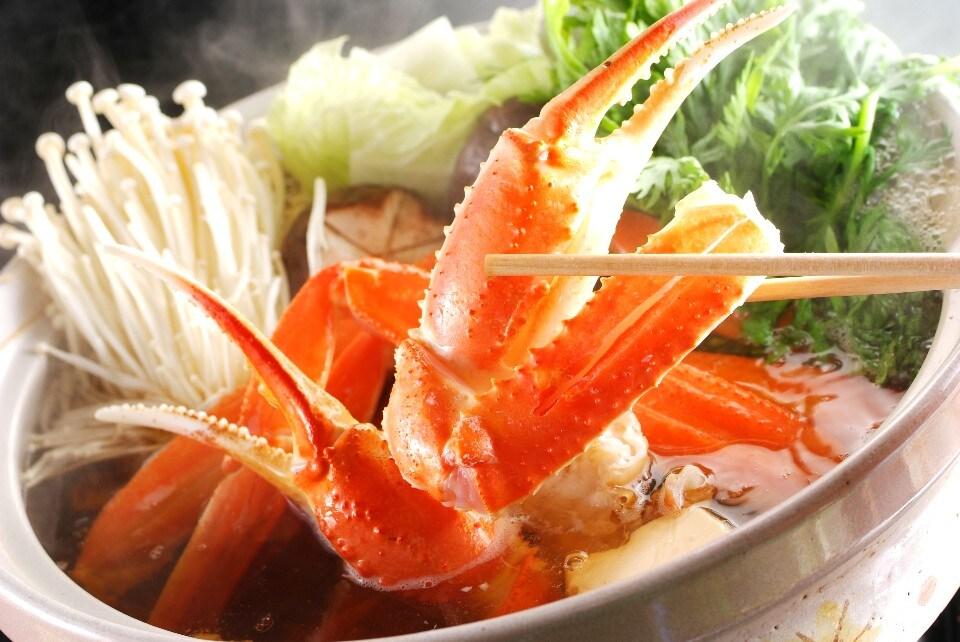 かにすき鍋(ぞうすい1人前付)