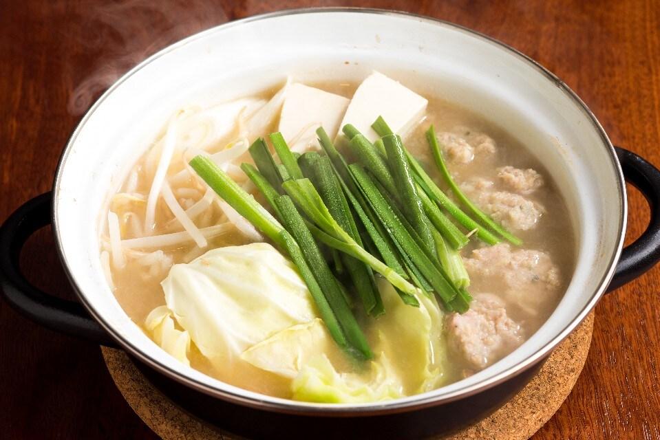 とり鍋コース(串焼3本)
