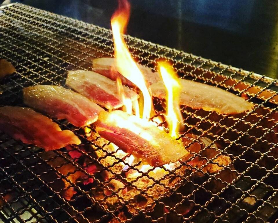 丼ぶりランチ【炭火焼き豚丼/炭火焼き鶏丼】