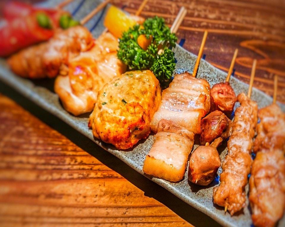 串盛り(8本)