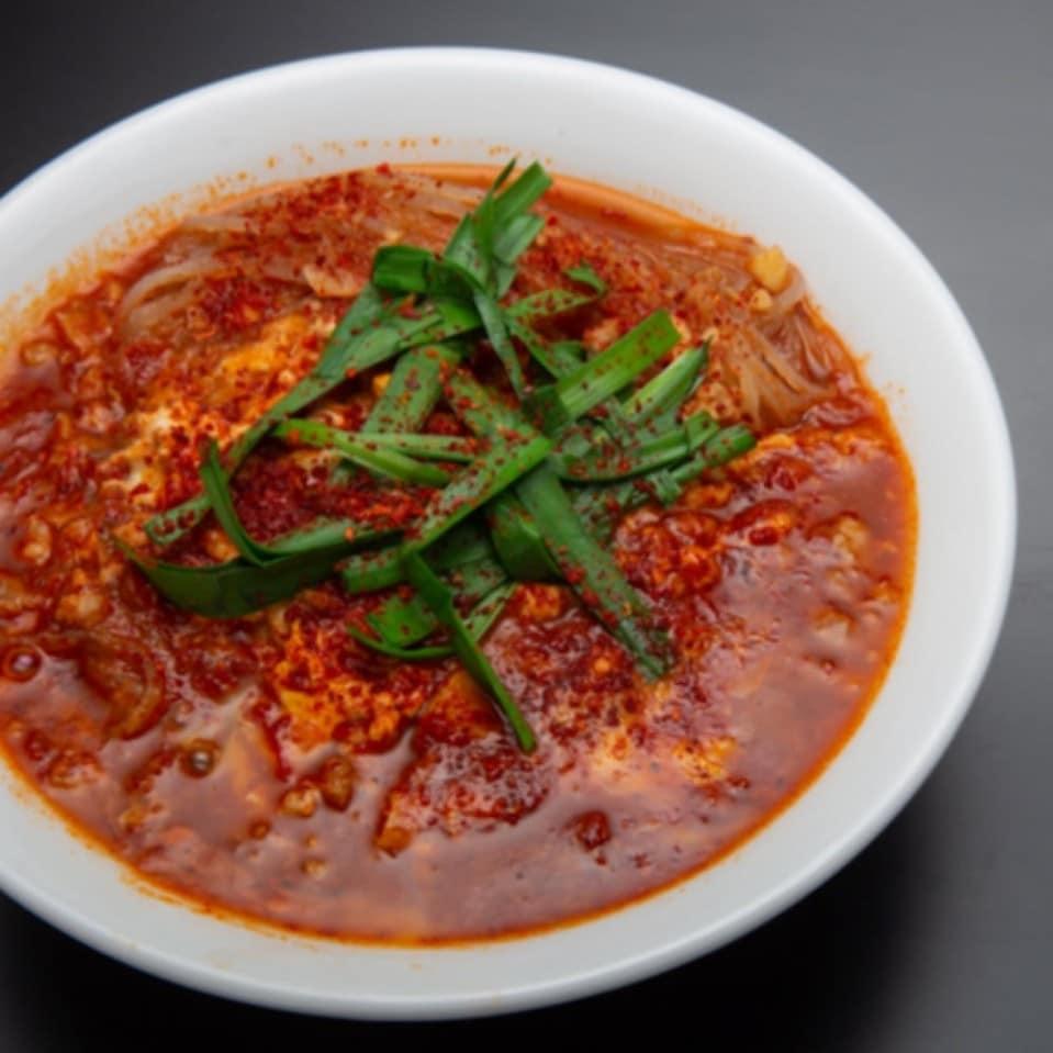 「赤」博多辛麺狛虎:トマト辛麺
