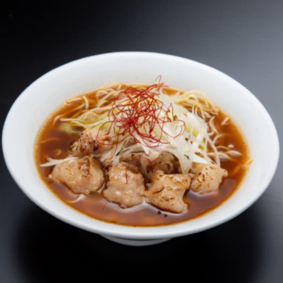 「限定」博多辛麺狛虎:炙りもつ辛麺