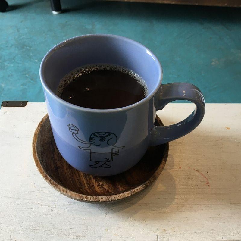 玄米の炭で作ったデトックスコーヒー